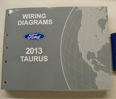 2013 FORD TAURUS ELECTRICAL WIRING DIAGRAMS | eBay