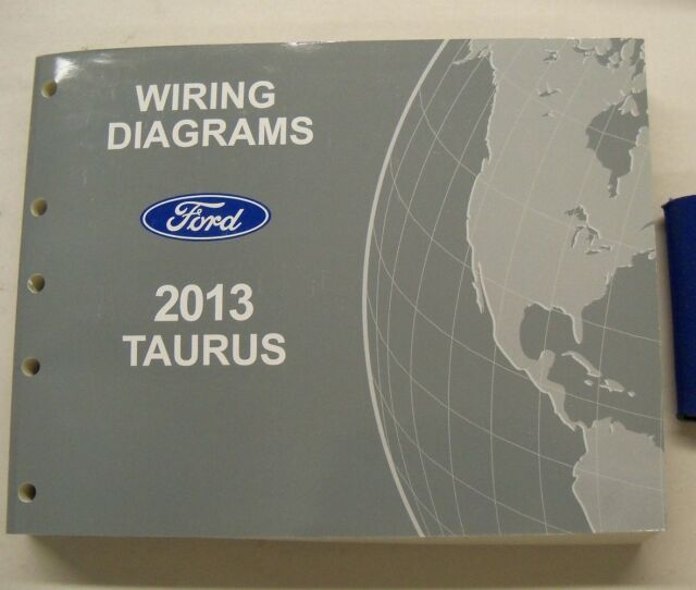 2013 Ford Taurus Electrical Wiring Diagrams