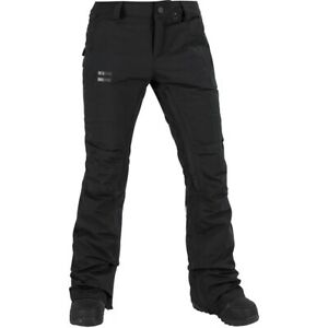 Volcom-Knox-Gore-TEX-Snowboard-Pants-NWT-Women-s-Black-XS