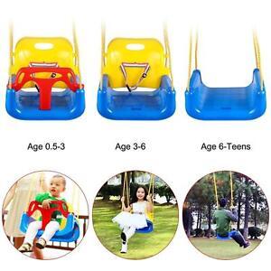 3-in - 1 neonato per bambino AGGIORNAMENTO VERSIONE Altalena Per Casa Giardino Veranda al chiuso  </span>