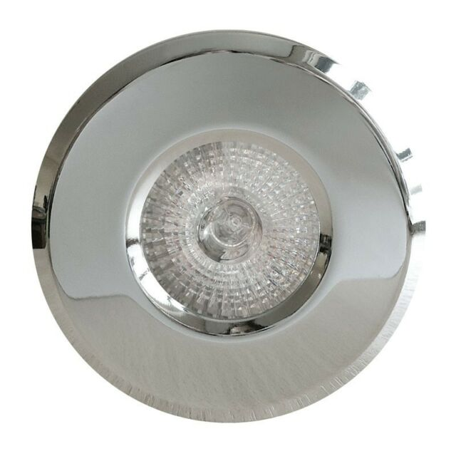 BATHROOM SHOWER RECESSED DOWNLIGHT GU10 IP65 WATERPROOF ZONE 1 2 3 HALOGEN / LED