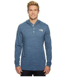 65240c6d3 Details about The North Face Men's Henley Tri-Blend Hoodie Logo Wear X-Large