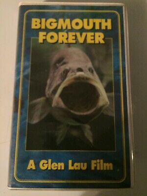 Bigmouth Forever Vhs A Glen Lau Film 45 Mins Bass Fishing Documentary Ebay