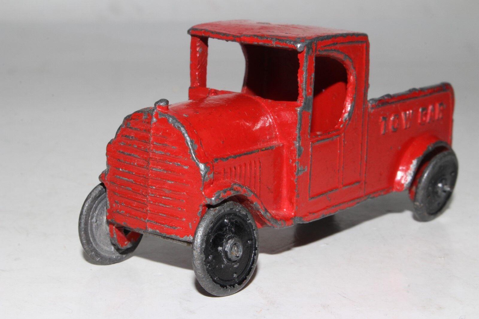 Années 1920  TIP TOP TOYS gadoue métal moulé dépanneuse,  2  bien vendre partout dans le monde