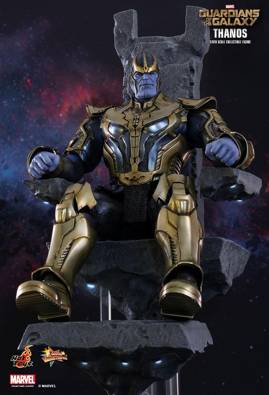 heta leksaker Väktare av Galaxy THANOS på tron 1  6 skala