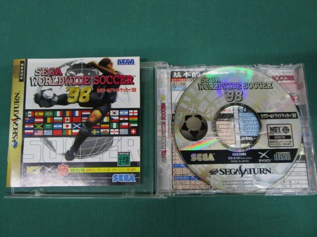 Sega Saturn -- Sega Worldwide Soccer '98 -- *JAPAN GAME!!* SS. 19830