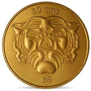 NOUVEAU-jeton-mini-medaille-Jeu-TV-tele-anniversaire-30-ans-Fort-Boyard-2019