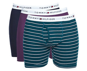 9422cdf57 TOMMY HILFIGER MENS CLASSIC BOXER BRIEF 3-PACK - MALLARD/PURPLE/NAVY ...
