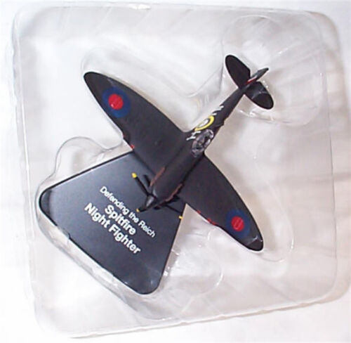 Spitfire Night Fighter WW11 aircraft Atlas editions 1-72 scale