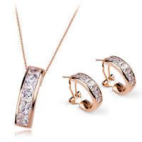 Fashion Jewelry - 18k Rose Gold Plated Set (fs065)