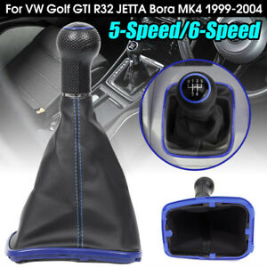 5-Speed-Gear-Shift-Knob-Gaiter-Boot-for-VW-Golf-GTI-R32-Jetta-Bora-MK4-99-04-Str