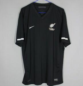 NEW ZEALAND NATIONAL TEAM HOME FOOTBALL SHIRT JERSEY CAMISETA 2010 2011 NIKE