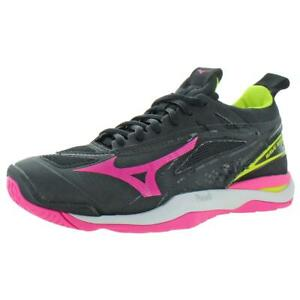 Mizuno-Womens-Wave-Mirage-Black-Sneakers-Shoes-12-5-Medium-B-M-BHFO-5658
