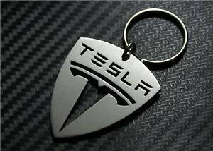 tesla keyring keychain schl sselanh nger porte cl s s x. Black Bedroom Furniture Sets. Home Design Ideas