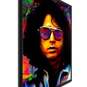 Jim Morrison Pop Art Ltd Ed. Celebrity Portrait Urban Decor on Metal or Acrylic