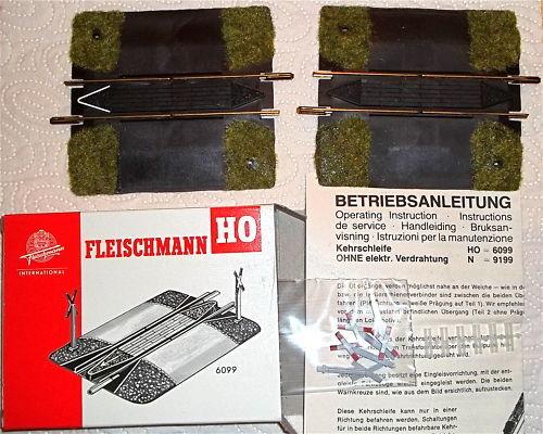 marca Bucles de de de Inversión Juego Fleischmann Artículo 6099 Nuevo 1 87 H0 LC3 Μ  bajo precio del 40%
