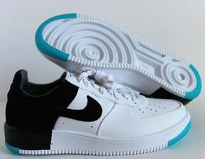 Details about Nike Ultraforce N7 Air Force 1 White Black Dark Turquoise Sz 9.5 873309 103 NEW