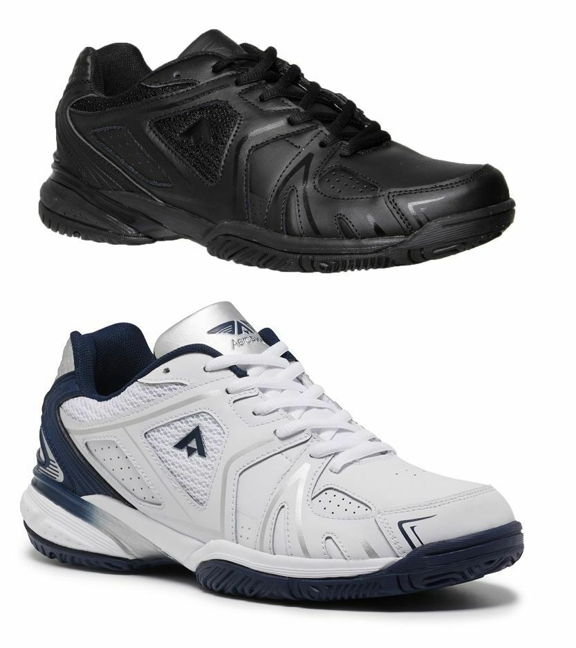 NEW MENS AEROSPORT PURE MENS ATHLETIC RUNNERS SPORTS GYM RUNNING SHOES