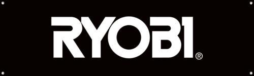 RYOBI Vinyl Banner Sign Garage Shop Mancave Mechanic Adversting