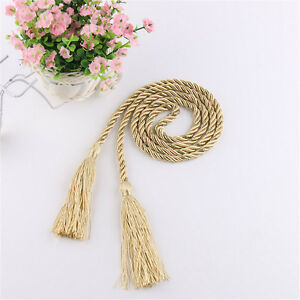 1 Pair Braided Rope Tassels Tiebacks Tie Backs Curtain Holdbacks Home Decoration