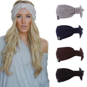 811a15bafa33bf Winter Cap Beanie Hat Warm Women Knit Ski Slouchy Skull Plain Cuff ...