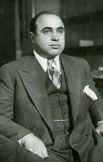 Framed Print - Al Capone American Gangster (Picture Poster Chicago Mafia Art)