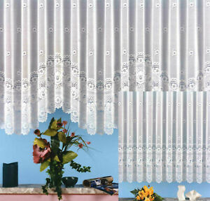 Gardine-Vorhang-Store-gebogt-aus-hochwertigem-Jacquard-mit-schoenen-Blumen-Typ25