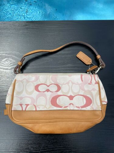 Authentic Vintage Coach Pink Rare Limited Edition