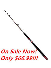 Custom Overhead Fully Rollered Trolling Game Fishing Boat Tuna Rods 6' 23-37kg