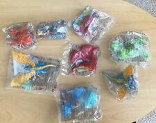 McDonalds toys How to Train your Dragon - Variety Of Dragons 8xBNIP