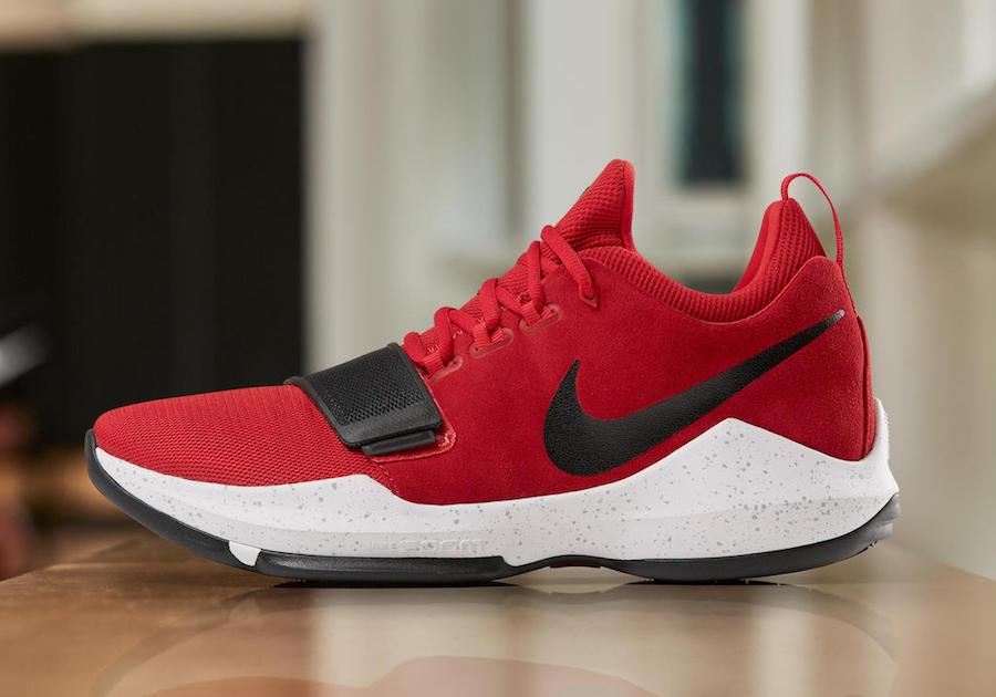 Nike PG 1 Universidad Jordan rojo tamaño 13,5.878627-602 Jordan Universidad Kobe de05dc