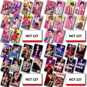 LOT-OF-Set-Kpop-NCT-127-Photo-Card-Crystal-Card-Sticker-Multipurpose-Sticker