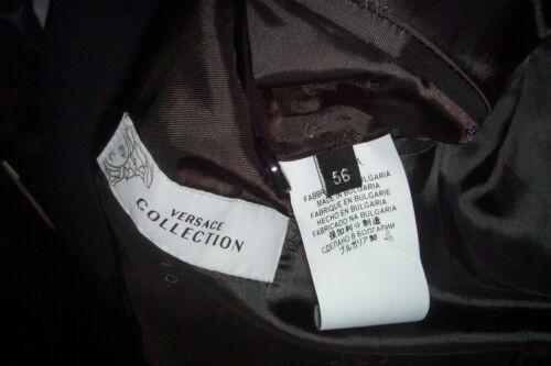 grijs Europa Versace Slim in gesneden Mini roosters gemaakt Us56eu 46r pak tshdCxBQr