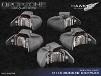 Dropzone Commander: Bunkers Scenery Pack Dzc99008