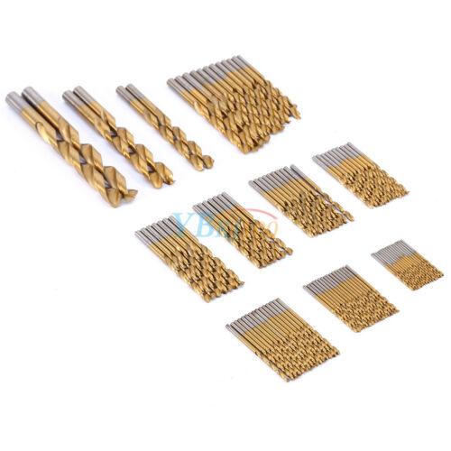 99x Titanium beschichtet Set 1,5mm-10mm Werkzeug Satz HSS-Bohrersatz Prima