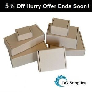 Brown-Die-Cut-Folding-Lid-Postal-Cardboard-Boxes-Small-Mailing-Shipping-Cartons