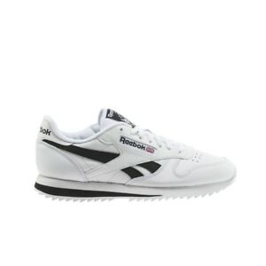 9b163d88dd3a Reebok Classic Leather Ripple Low Bp (WHITE BLACK) Men s Shoes ...