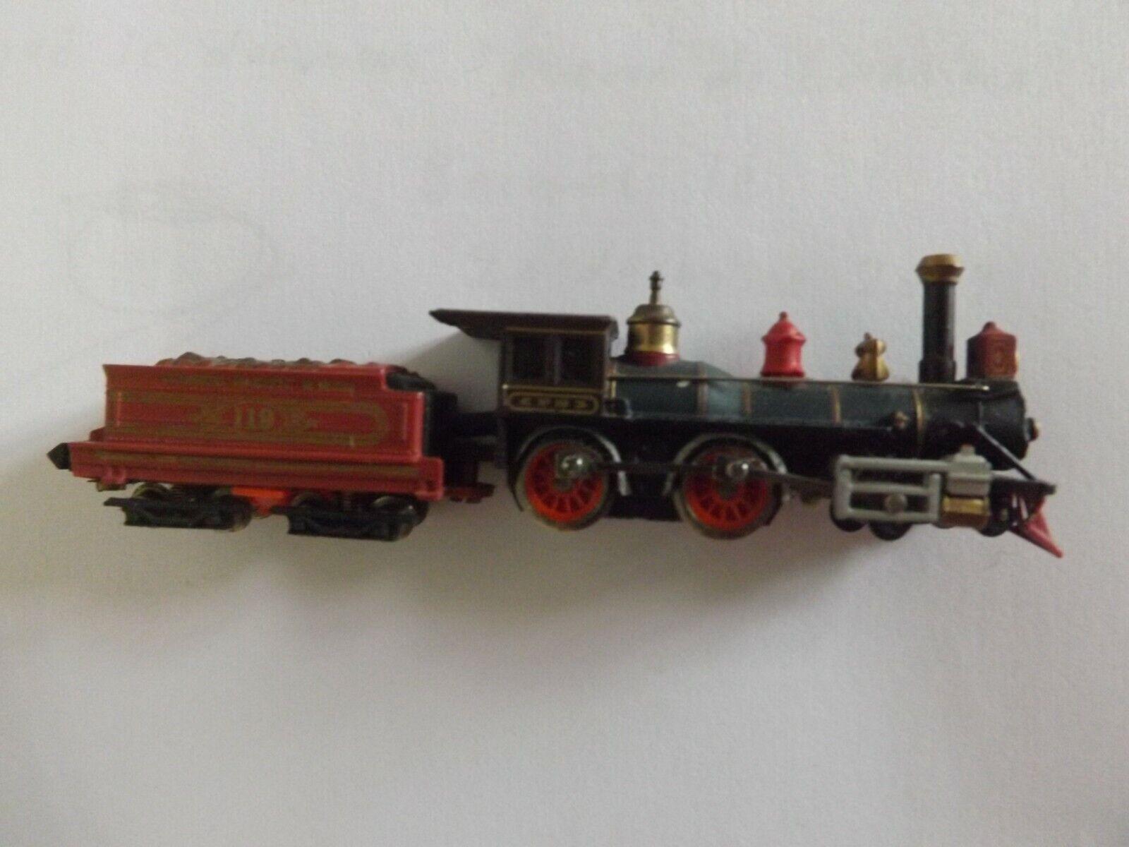 Bachuomon locomotive a vapeur  tender wagon 119 Union pacific  train electrique
