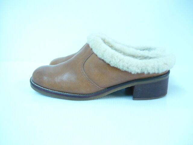 R Boot Braun Faux Leder Ankle Boot R Sz 8.5 3d1f00