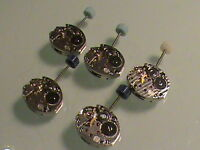 5 NEW OLD STOCK TISSOT WRISTWATCH MOVEMENT CAL. 2700 - Equivalent Omega 1100