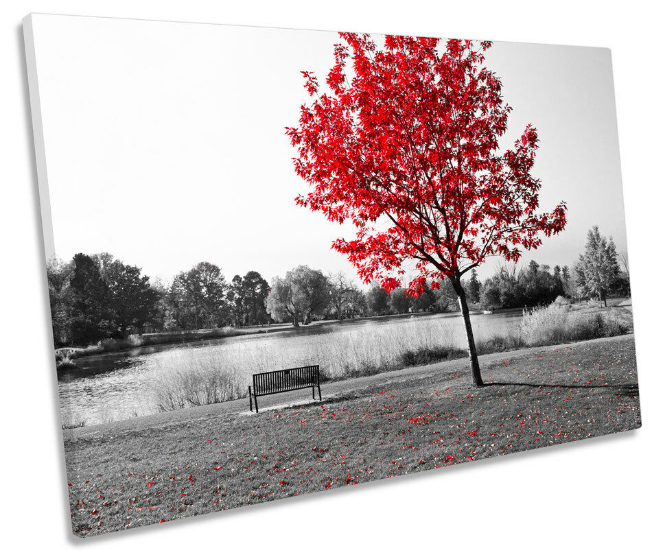rot rot rot Tree Landscape Floral CANVAS WALL ART SINGLE Picture Print 641b59