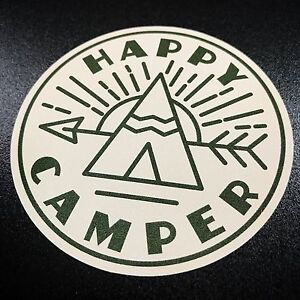 Image Is Loading Happy Camper Teepee Sticker