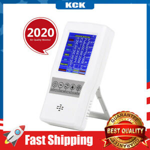 Air Quality Monitor Accurate Tester CO2 Formaldehyde PM2.5/PM10