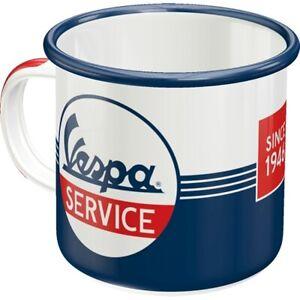 Vespa-Roller-Emaille-Kaffeetasse-Souvenir-Tasse-360-ml-coffee-mug