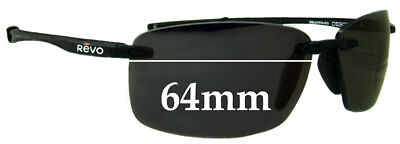 SFX Replacement Sunglass Lenses fits Revo 4031 64mm Wide