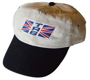 Triumph Tr6 Union Jack Flag Embroidered Hat Ebay