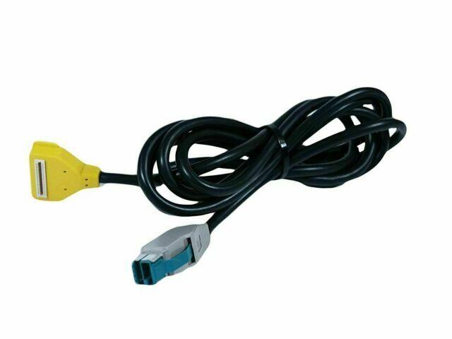 VERIFONE Verifone Cbl-23998-02 Cable Ylw Mx8xx Usb To Ecr 12V Pwr Usb 2M