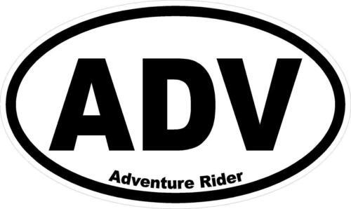 """1 #895 5.5/"""" Adventure Rider KLR R1200GS ADV Decal Sticker Laminated"""