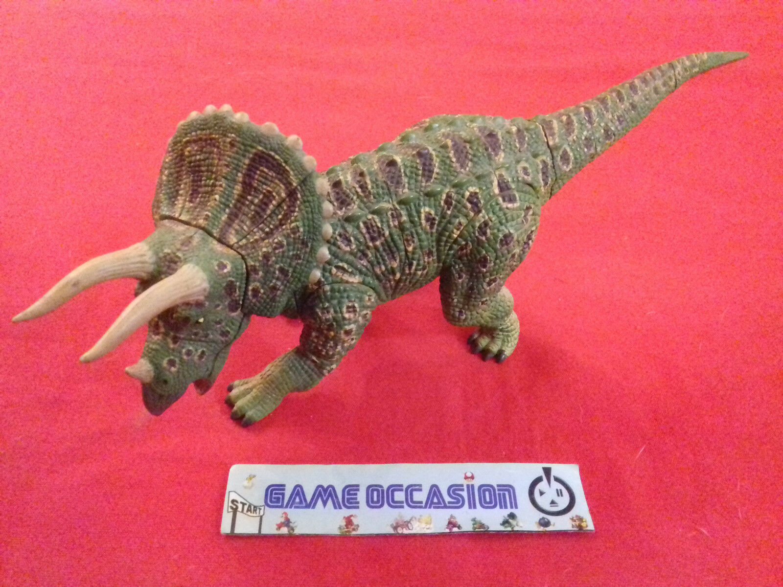 DINOSAUR 4D PUZZLE TRICERATOPS 4DMASTER FAME MASTER OFFICIAL FIGURINE TOYS