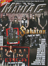 METAL MANIAC 5 2014 Sabaton Down Epica Casualties Of Cool Mayhem Riot V Vader